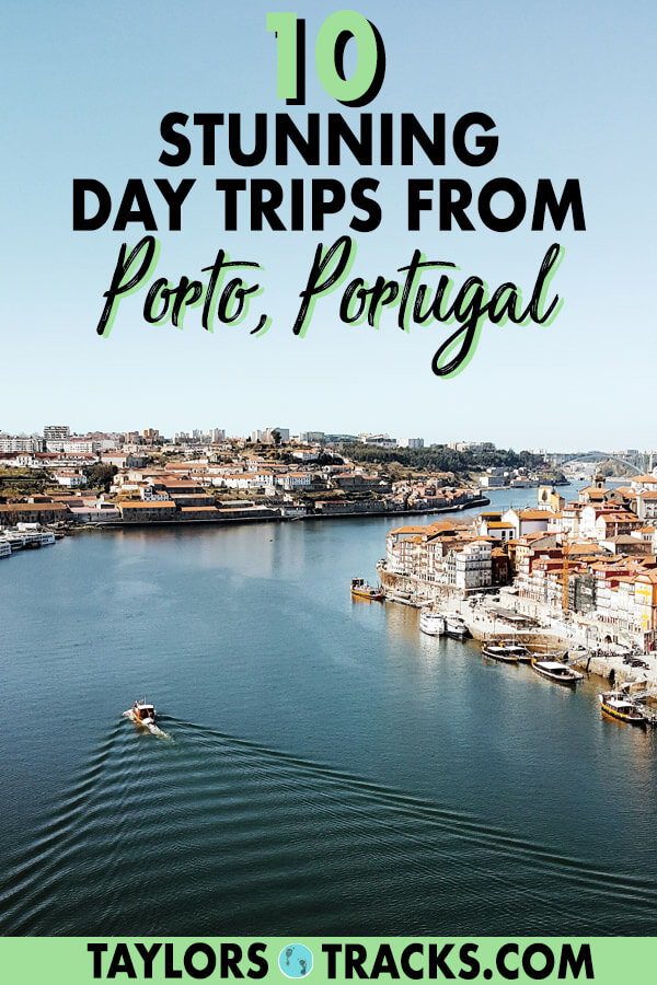 If you're running short on things to do in Porto then add one (or more) of these day trips from Porto to your Porto itinerary. Find Portugal travel tips for Douro Valley, Braga, Coimbra, Aveiro and more. #europe #portugal #porto #traveltips #travel #daytrips