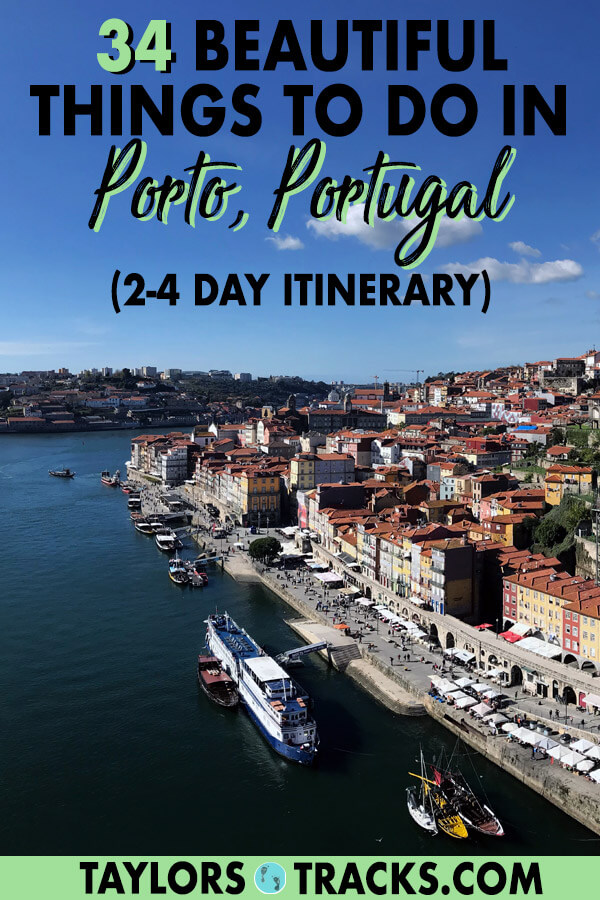 Discover Porto, Portugal with these best things to do in Porto and easy to follow Porto itinerary for 2 days in Porto, 3 days in Porto or more. Plus tips on where to stay in Porto, how to get around Porto, what to eat in Porto and more! #porto #portugal #europe #travel