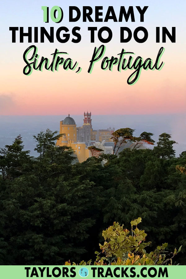 There are plenty of day trips from Lisbon but a day trip to Sintra is the best. Colourful palaces, fairytale-like gardens and hidden tunnels intrigue visitors. Click to find the best things to do in Sintra, Portugal for the ultimate trip! #sintra #portugal #lisbon #europe #travel