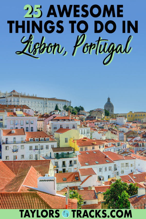 Click to find out how you can spend 3 days in Lisbon for an incredible time with this detailed Lisbon itinerary. You'll learn the best things to do in Lisbon, where to go in Lisbon, where to stay in Lisbon, the best Lisbon viewpoints, Lisbon attractions and much more! #lisbon #portugal #europe #travel #lisbonportugal