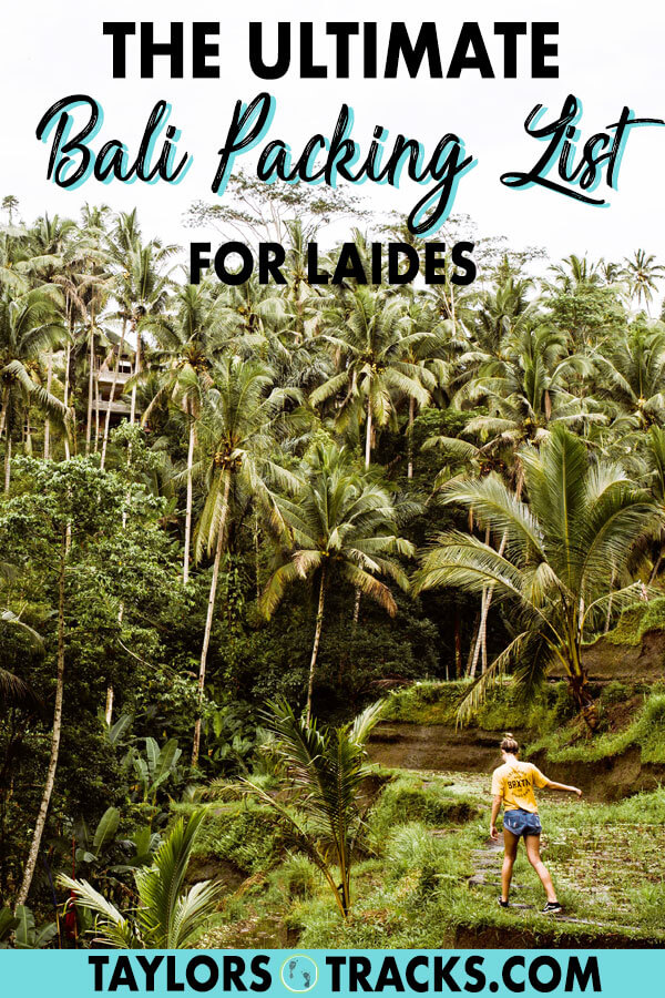 Find everything you'll need with these Bali travel tips to help you pack for the perfect Bali holiday. This Bali packing list for ladies includes all of the essentials and gives guidelines on what to wear in Bali, how much you need to pack, how to choose to a backpack and more. #bali #indonesia #travel #packing #packingtips #packinglist
