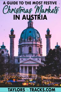 Plan a trip to Austria for the festive season with this guide to the best Christmas markets in Austria. Among the best Christmas markets in Europe, this guide will share with you where to go in Austria, what to buy at Christmas markets, what to eat, drink and more. Click to start planning your Christmas market trip!