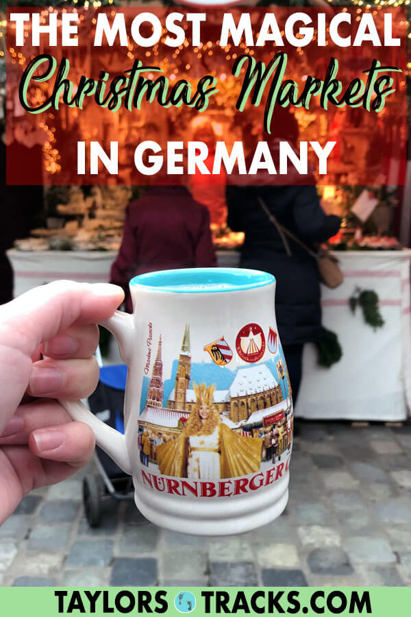 This ultimate guide to Christmas markets in Germany will take you across the country to the most festive and prettiest markets. Included are also top tips and where to stay in Germany. Don't miss out on some of the best Christmas markets in Europe! #christmas #christmasmarkets #europe #germany #bavaria