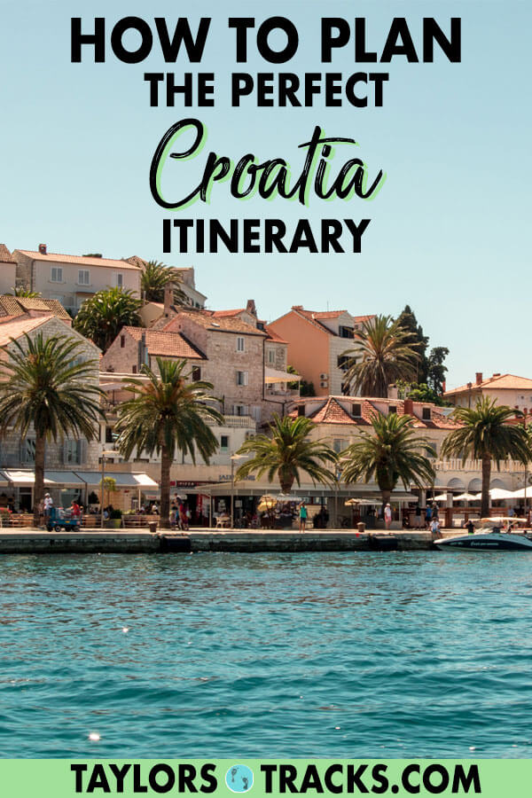 Have the perfect Croatia vacation with this Croatia travel guide that will help you plan the ultimate Croatia itinerary for 1-3 weeks in the sun. Find the top Croatia activities, where to stay in Croatia and must-visit Croatia destinations, plus more. #travel #croatia #europe #vacation #holiday #beach #island
