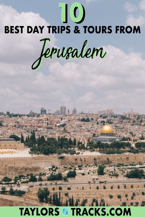 These Jerusalem tours and day trips from Jerusalem will allow you to dive deep into the cultures and religious sites of Jerusalem and will get you exploring into the Judean Desert, into the West Bank and more. #israel #jerusalem #travel #middleeast #deadsea