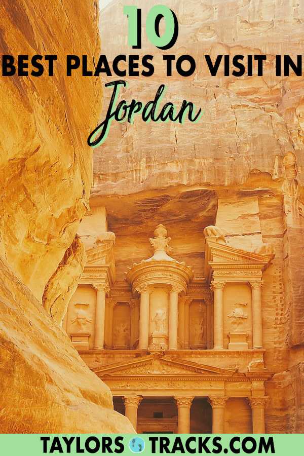 When you visit Jordan you simply can't miss these sites that including otherworldly landscapes, ancient cities, Roman ruins and more. Don't plan your Jordan trip without reading this first! #jordan #middleeast #travel