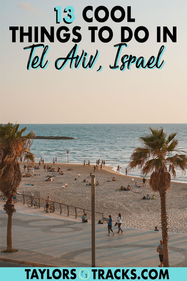 Without a doubt Tel Aviv is the hippest city in all of Israel but it has a rough exterior that shouldn't fool you. Find all of the top things to do in Tel Aviv and the best Tel Aviv attractions to make for the ultimate Tel Aviv itinerary to add to your Israel trip. #israel #telaviv #middleeast #travel