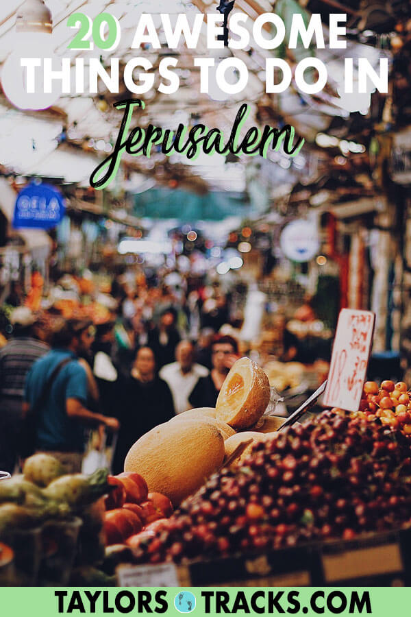 Learn what to do in Jerusalem for all types of travellers (religious or not) with these things to do in Jerusalem that will ensure you have a full trip to Jerusalem. #israel #jerusalem #middleeast #travel