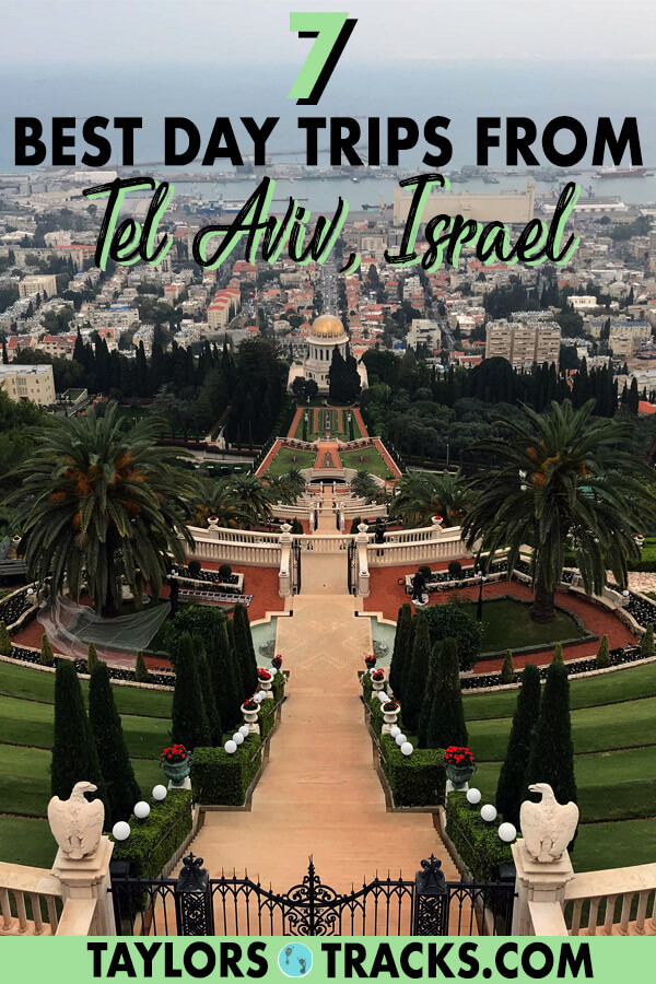 See the whole of Israel and Palestine with these day trips from Tel Aviv that take you to holy sites in the north, biblical sites in the east and to natural landscapes in the south. These Tel Aviv day trips will certainly help you plan the perfect Tel Aviv itinerary. #telaviv #israel #middleeast #travel
