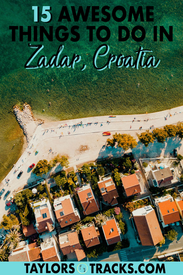 Zadar travel has so much to offer. Find out how to fill your time in this once Venetian ruled city with these top things to do in Zadar. #croatia #zadar #europe #travel