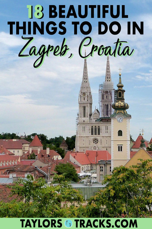 This Zagreb travel guide will help you plan the perfect trip to this beautiful capital city. These things to do in Zagreb are ideal for every type of traveller, include day trips and more. #croatia #europe #zagreb #travel