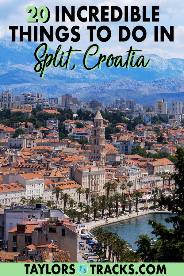There are so many things to do in Split that you could easily spend a week in the city and have a full Split itinerary. These Split attractions are ideal for any type of traveller. History, adventure, beaches, Split travel really has it all! #croatia #split #europe #travel