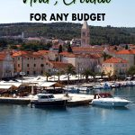Decide where to stay in Hvar with this simple Hvar accommodation guide that will guide you to the best area, Hvar hotel or Hvar hostel depending on your budget.