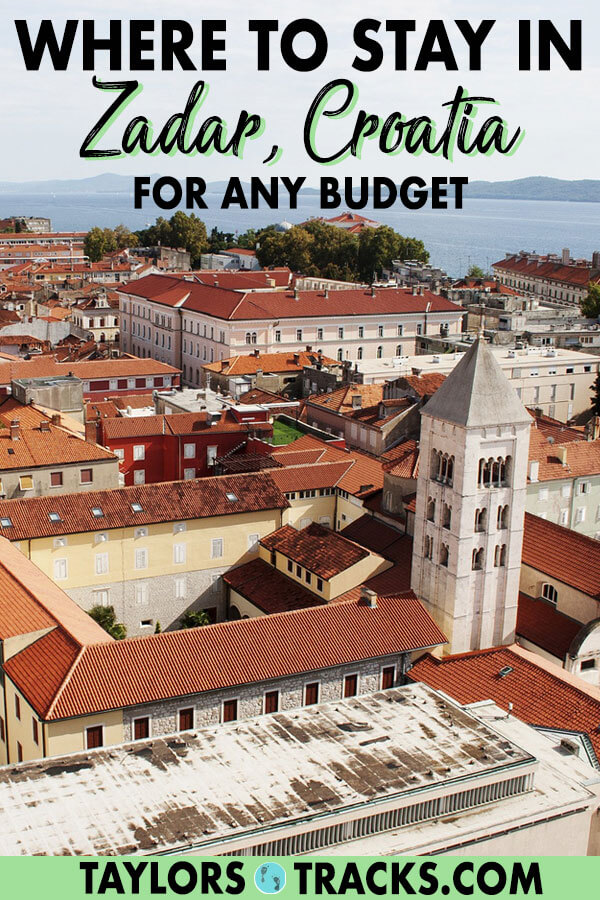Finding where to stay in Zadar is easy with this Zadar accommodation guide that includes the best Zadar hotels and Zadar hostels from budget to luxury. #zadar #croatia #europe #travel