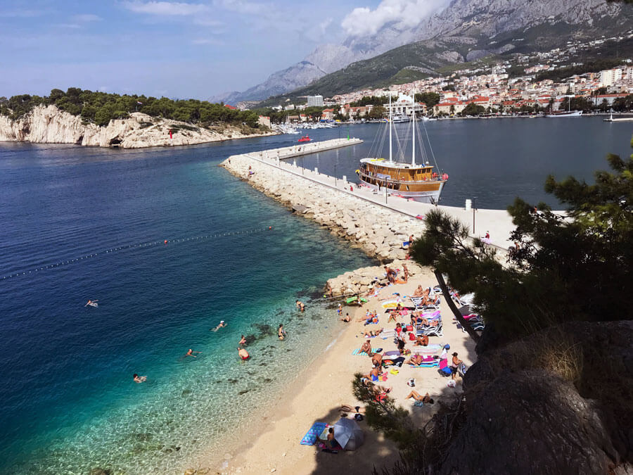 Things to do in Makarska | Makarska beach | What to do in Makarska | Visit Makarska | Makarska Croatia | Makarska Riviera