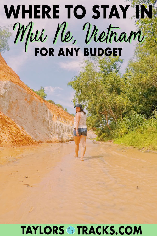 Picking where to stay in Mui Ne is made easy with this Mui Ne accommodation guide. Click to find the perfect Mui Ne hotel or Mui Ne hostel! #vietnam #travel #backpacking #budgettravel #luxuryhotels