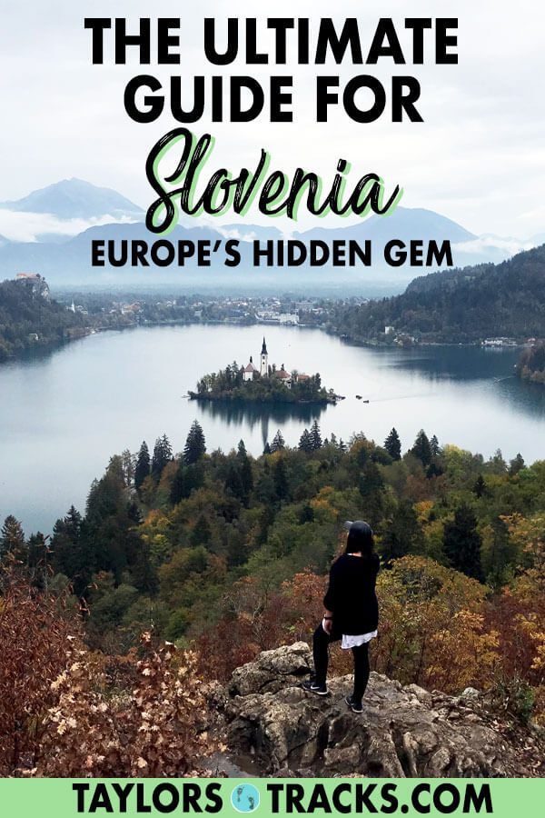 Don't skip on the opportunity to visit Slovenia. This picturesque country can easily be added to a Croatia, Italy or Austria trip. Plan the ideal Slovenia itinerary with this easy to use Slovenia travel guide that shares everything you need to know for your Slovenia trip. #slovenia #europe #balkans #travel #lakebled