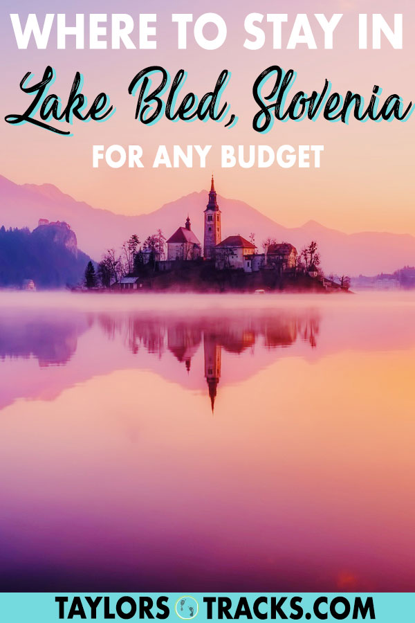 Find where to stay in Lake Bled with these dream Lake Bled accommodation options that include Lake Bled hotels, Lake Bled hostels, apartments in Lake Bled and even Lake Bled Airbnbs. Budget to luxury, this article has got you covered. #lakebled #bled #slovenia #europe #travel #accommodation #hotel #hostel