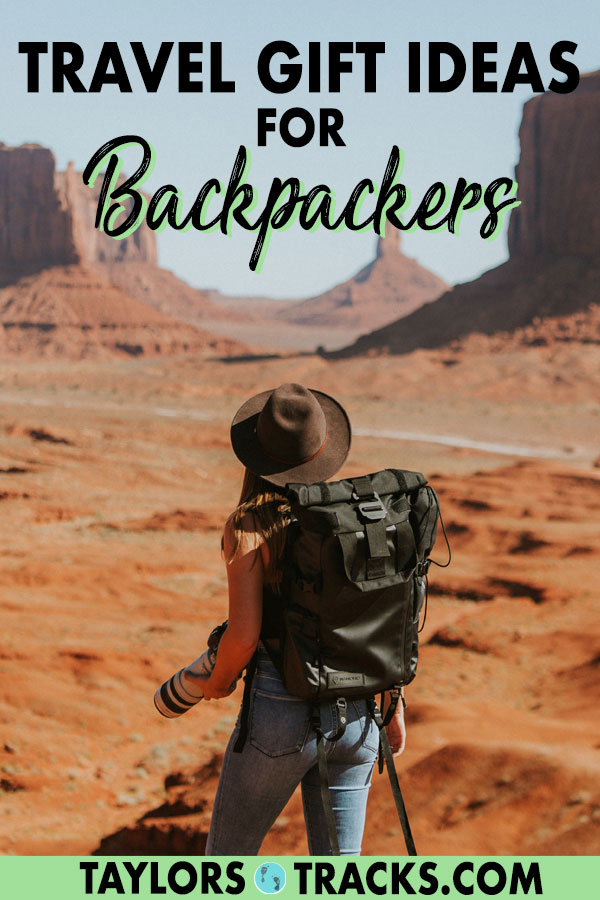 Backpackers are all about having minimal things while on the road but often love inspiration while at home. This travel gift idea gives you practical ideas for backpackers to use while on the road and to keep at home for fun memories! #travel #giftguide #travellover #backpacker