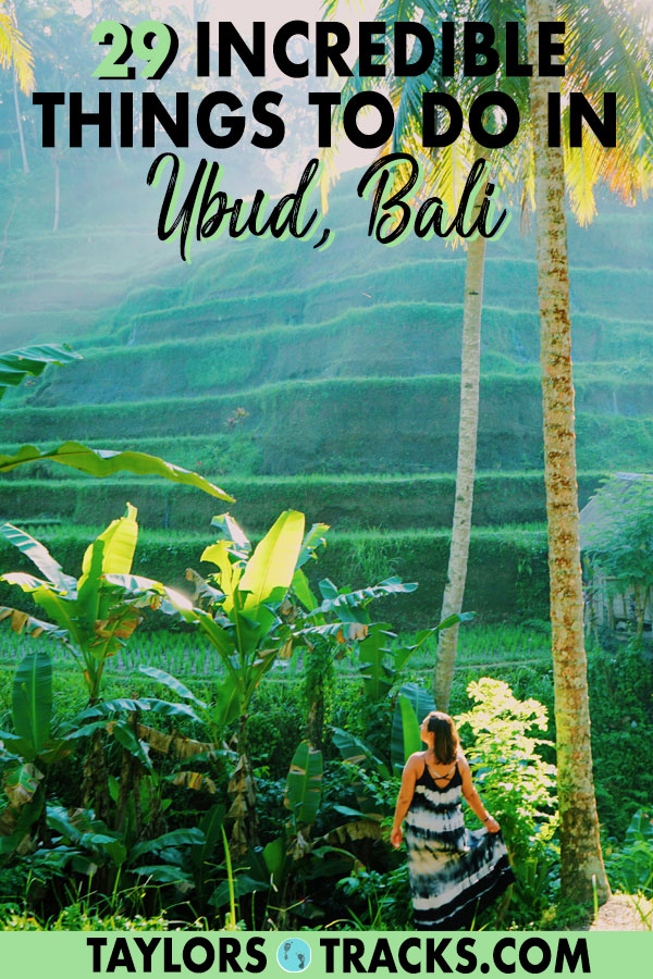 There are so many things to do in Ubud that you'll have no problem filling your time in Bali's top destination. Find all of the top Ubud attractions from Ubud waterfalls to the Ubud market, temples and much more. Visit Ubud and you won't be disappointed that you included it in your Bali itinerary. #bali #indonesia #island #ubud #travel #southeastasia