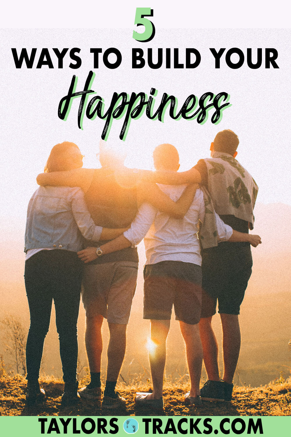 Learn how to build your happiness with these happiness tips that will teach you the 5 essential pillars of being happy. Happiness is easy, click to find out just how simple it is.