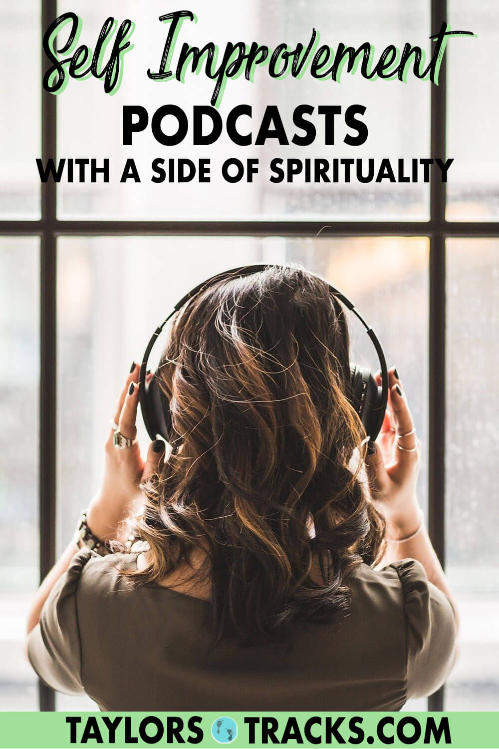 Self improvement podcasts don't have to be all about doing. These podcasts for women combine spirituality with personal development so that you can find flow, ease and letting go as easily as you can do, accomplish and thrive. Click to find your next inspirational self growth podcast!