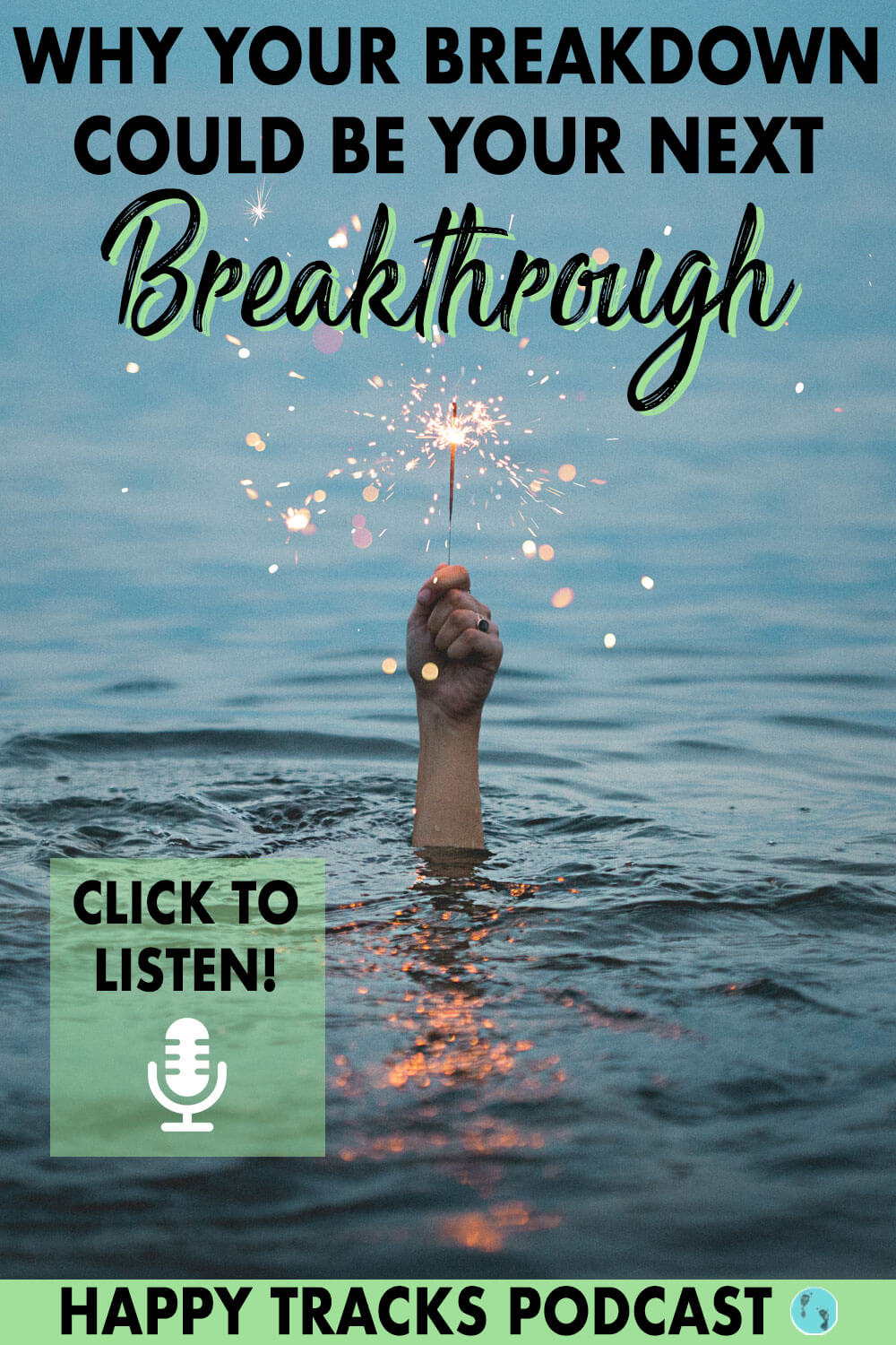 Breakdowns are not bad, they're just a signal to you that something needs to change. Click to listen to a podcast for women that will help to completely reframe how you look at your breakdowns - for the better.