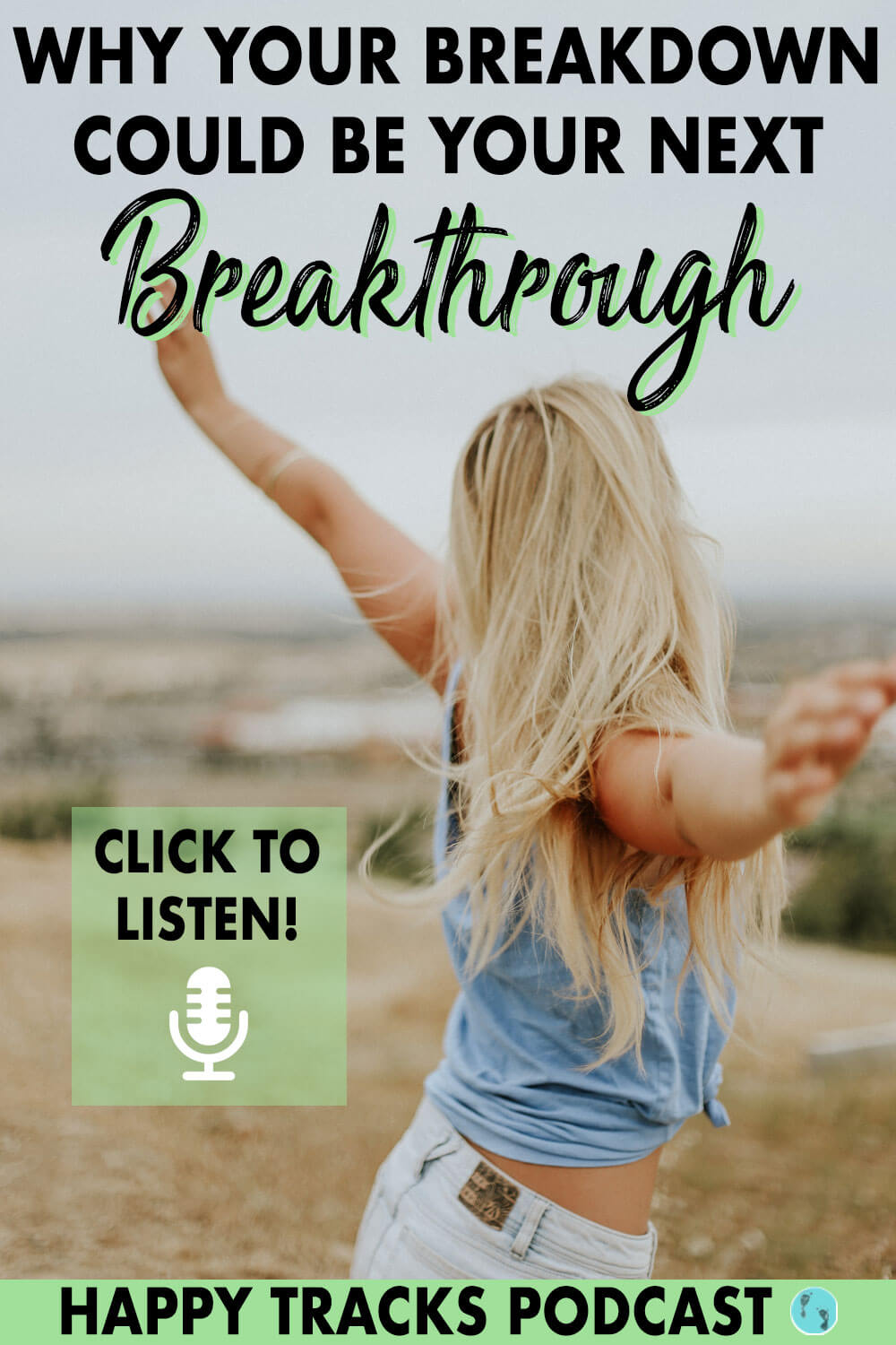 Your mental health is one of the most important things to take care of. When you're going through a breakdown, learn how you can reframe it to see it as an opportunity to breakthrough. Choose to see your breakdowns as something to work through for your well being as a form of self-love. Click to find out just how to do so!
