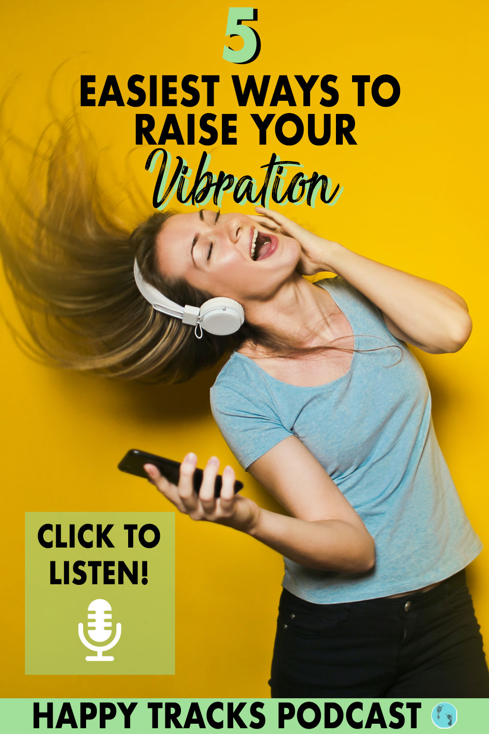 Raise your vibration and you'll take control your life. The best part? Raising your vibe is so simple. Click to listen to this podcast episode that covers the most basic ways to raise your frequency in just seconds.