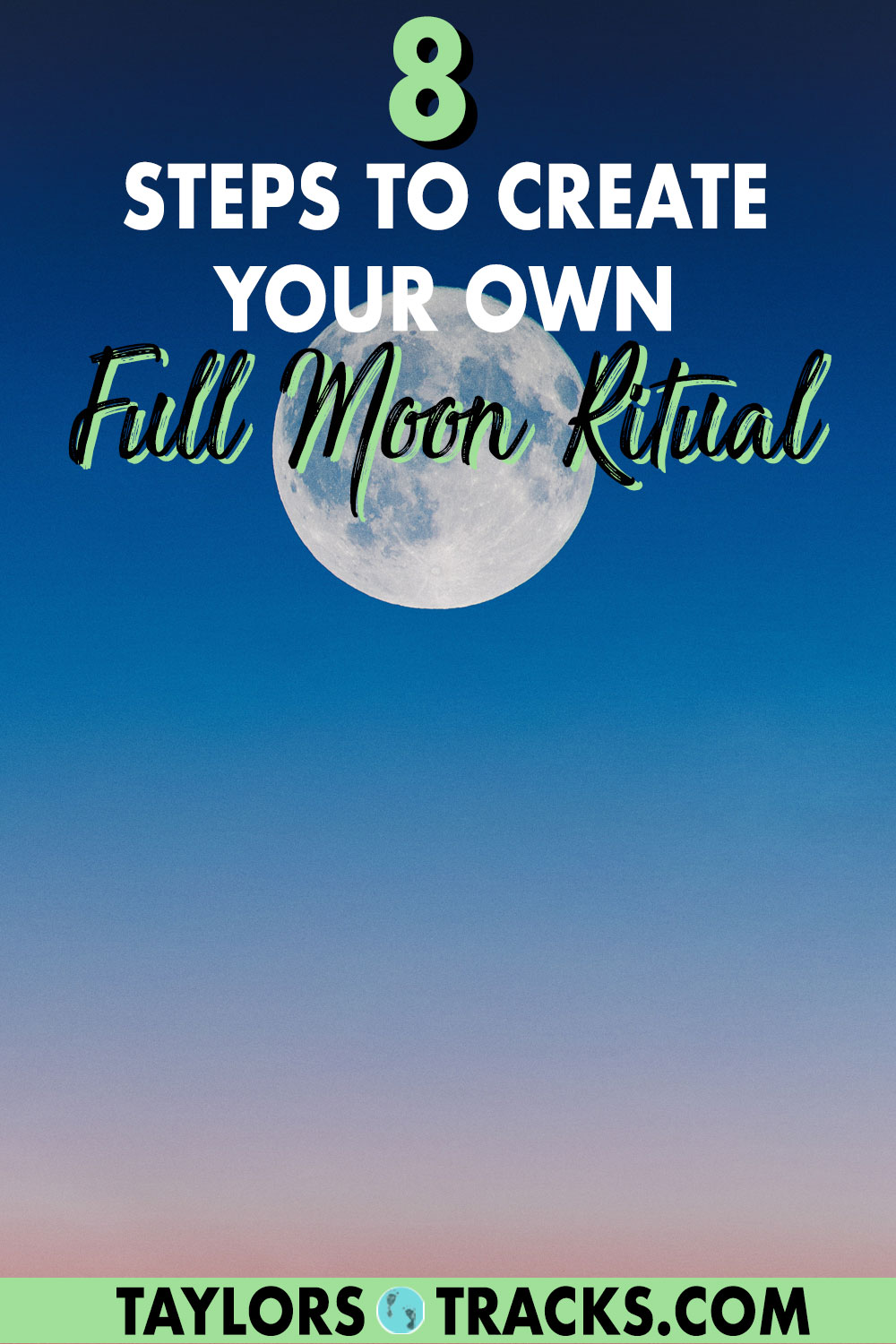This full moon ritual is simple yet powerful. Learn how to manifest with the moon and let go with this full moon ceremony designed to let you release what is no longer serving you. Click to start your moon ritual!