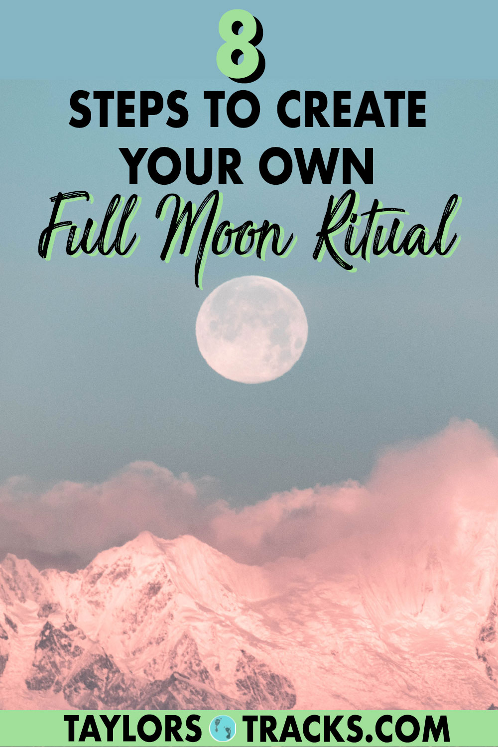The full moon is a powerful time when energy is high and is also the perfect time to learn to let go, release what is no longer serving you and manifest with the moon to call in what you want. Click to find a simple full moon ritual that is perfect for letting go!