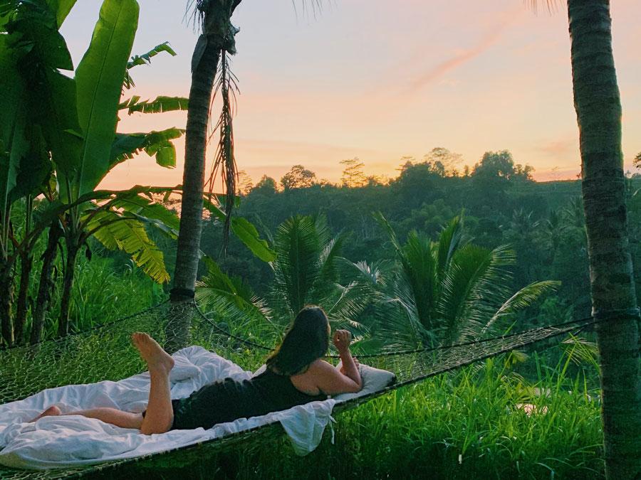 Living the dream life at Camaya Bali.