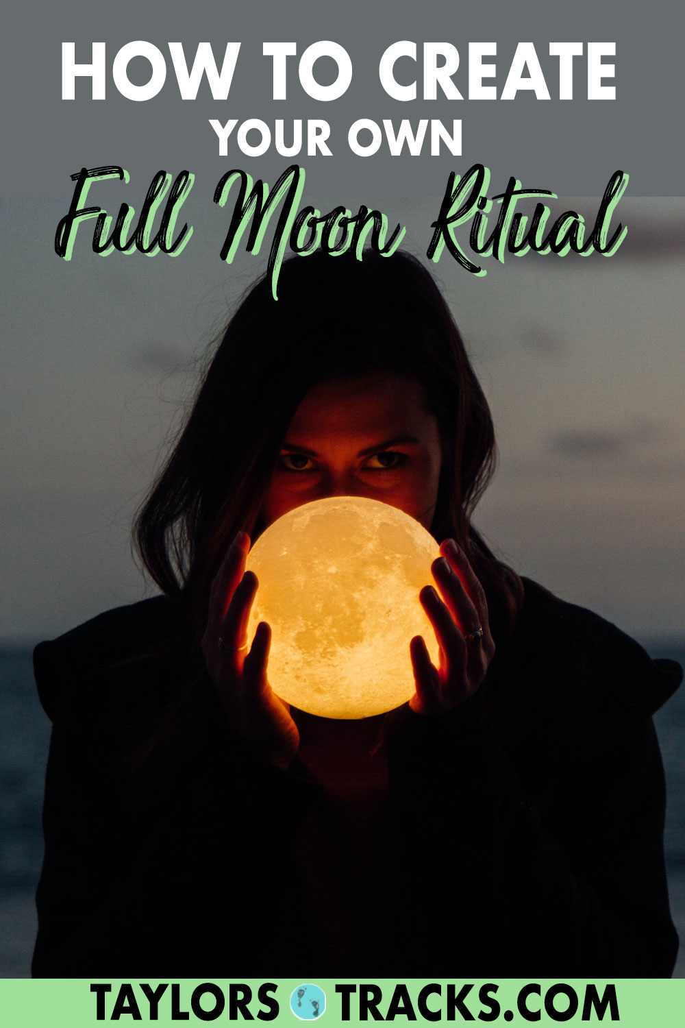 Practice this full moon ritual with friends or by yourself for a full moon ceremony that is powerful, fun and easy to do. Learn how to let go, manifest with the moon and release what is no longer serving you. Click to find out how to perform your own full moon ritual!