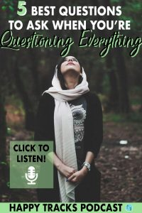 Ever feel like you're questioning everything about everything? It can be overwhelming, you can second guess what you're doing in every aspect of your life and even your beliefs. When you feel like you don't know the answers to life or the right answer, ask yourself these 5 questions to get you back on track.