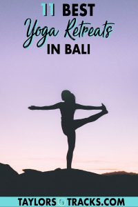 Find yourself the perfect yoga retreat in Bali with these top options hand-picked from a blogger who lives in Bali and is a yoga teacher! Click to find the best yoga retreats in Bali!