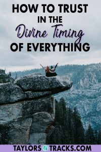 Learn how to trust to that everything will work out with these spiritual tips on accepting and believing in divine timing. Click to learn what divine timing means, how and how you can trust it!