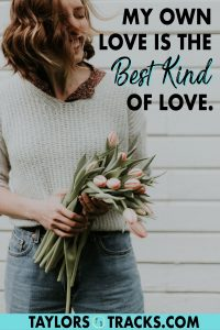 Loving yourself is simple but not always easy. Learn how to love yourself by using self-love affirmations as a way to train your brain to give yourself more love. Click to find more beautiful affirmations!