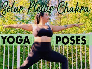 Solar plexus chakra yoga poses