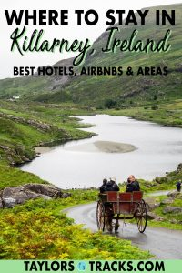 Find the best places to stay in Killarney, Ireland with this no BS Killarney accommodation guide. From the best hotels in Killarney to the top Killarney Airbnbs, these hand-picked options are for every budget. Click to pick where to stay in Killarney!