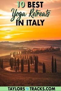 Italy is not most people's typical first choice but this country known for wine and top cuisine is one of the best choices for yoga retreats in Europe. Picture yourself doing yoga in Italy, with views over Tuscany or the beaches in Ragusa and finishing your days with wine and Italian food. Sounds dreamy right? Click to find the best yoga retreats in Italy and make your Italy trip unforgettable!