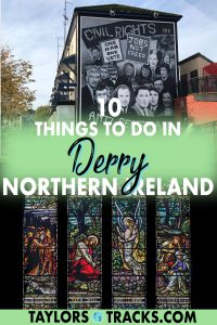 Discover the best things to do in Derry, Northern Ireland, to make your trip to this Irish city one to remember. Learn about the city's history as well as explore the best Derry attractions, this Derry guide has got you covered. Click to find the things to do in Derry that are a must!