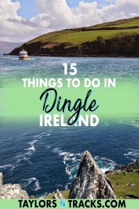 Don't miss the must-see sights in Dingle and beyond across the Dingle Peninsula. From Star Wars filming locations to jaw-dropping Ireland road trips, historic pubs to the best ice cream in Ireland, don't miss a stop in Dingle on your Ireland trip. Click to find the best things to do in Dingle!