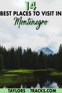 Don't make your Montenegro travel plans without taking a peek at these best places to visit in Montenegro! From coastal cities such as Kotor and Budva, to natural sights such as Durmitor National Park and beyond, these Montenegro destinations are must-sees to add to your Montenegro itinerary!