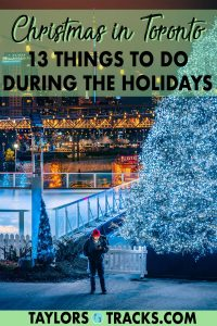 Spending Christmas in Toronto? This guide covers the best and free things to do in Toronto during the holidays. From skating rinks to the best sites for Christmas trees and of course details on the Toronto Christmas Market, there's no shortage Christmas attractions in Toronto. Click to start planning your Christmas in the city!