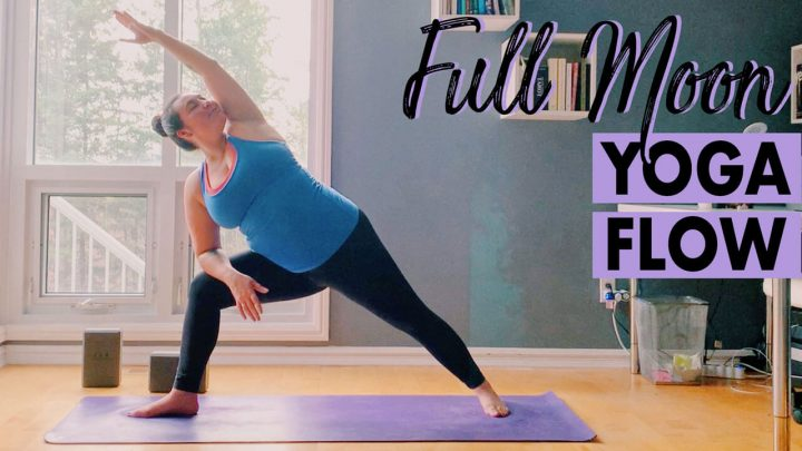 Energizing Full Moon Yoga Flow for Letting Go