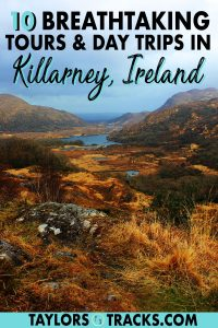 Explore Killarney town and beyond with these hand-picked day trips from Killarney and tours within town. From Killarney National Park to the Gap of Dunloe and the can't be missed Ring of Kerry, these things to do in Killarney Ireland will make your trip to Killarney extremely photogenic!