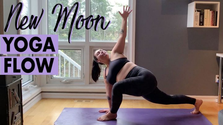 New Moon Yoga Flow to Embrace the New & Change