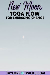 Embrace the new moon with this new moon yoga sequence that was created to help you embrace the new and change for this coming lunar cycle. Yoga is a powerful tool to help set new moon intentions by getting you out of your head and this 30-minute new moon yoga flow will certainly do the trick. Click to try this new moon yoga practice!
