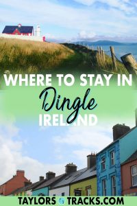 Pick where to stay in Dingle with ease with this Dingle accommodation guide that covers the best Dingle hotels, Airbnbs, bed and breakfasts and hostels for every budget and avoid spending a ton of time researching. Click to find where to stay in Dingle, Ireland!