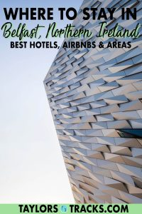 Discover where to stay in Belfast based on your travel style and budget. This Belfast accommodation guide will help you find the best places to stay in Belfast from luxury hotels in Belfast to Airbnbs and even budget options plus the top areas and neighbourhoods. Click to find the best place to stay in Belfast for you!